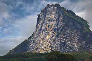 Buddah mountian south of Pattaya